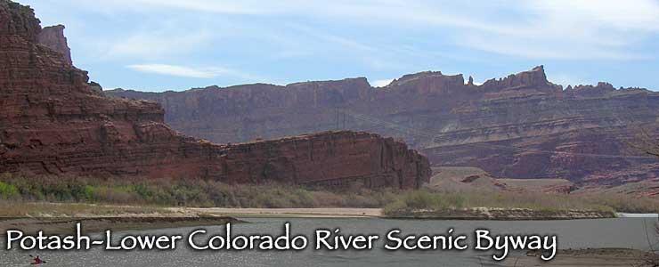 Potash-Lower Colorado River Scenic Byway