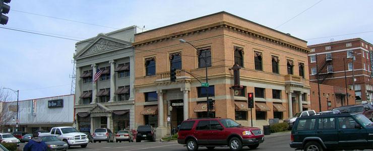 In downtown Prescott