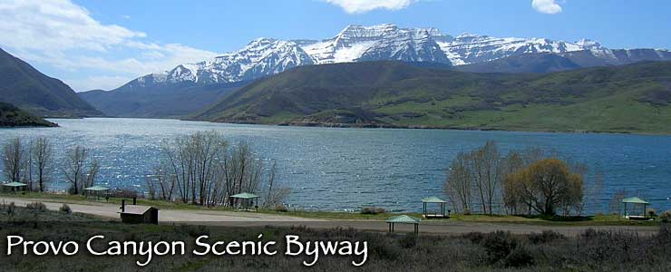 Provo Canyon Scenic Byway