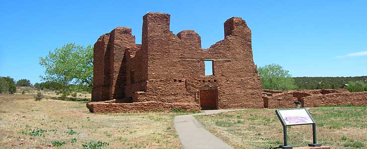 The mission ruins at Quarai, Salinas Pueblo Missions National Monument