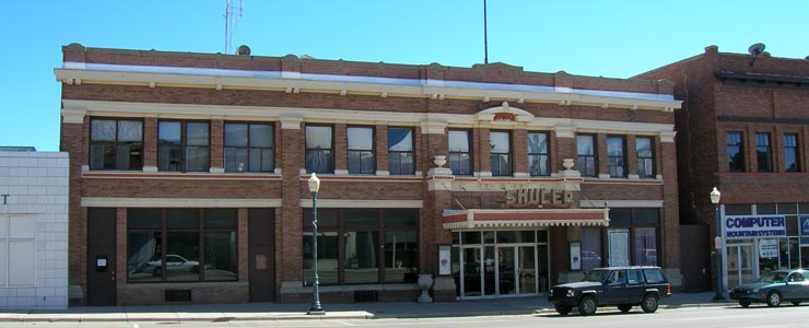 Historic Shuler Theater in downtown Raton