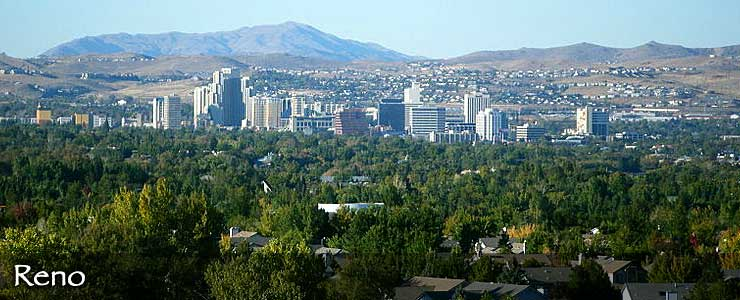 The Reno skyline