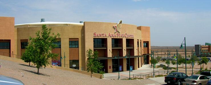 The Santa Ana Star Center in Rio Rancho