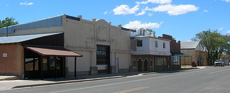 On Main Street in Roy