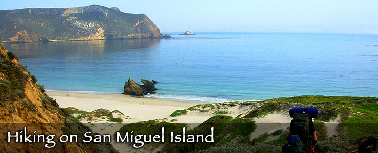 Hiking on San Miguel Island