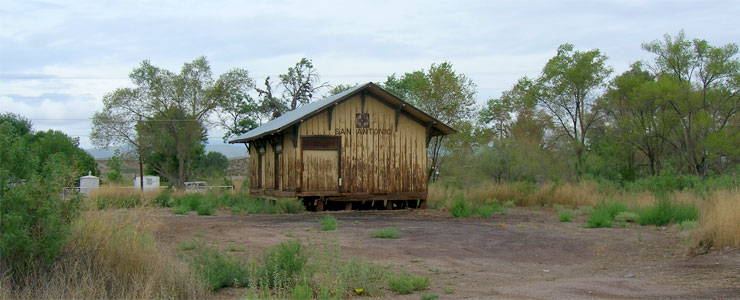 The BNSF Station in San Antonio