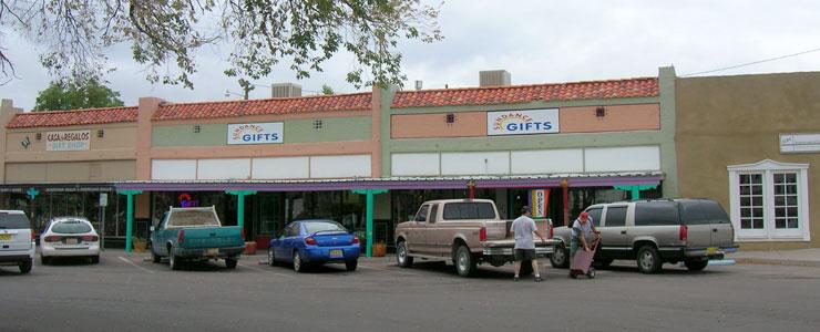 In downtown Socorro