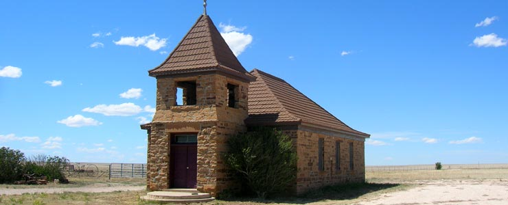 An abandoned church in Solano