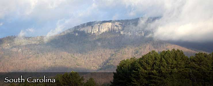 Table Rock Mountain, South Carolina