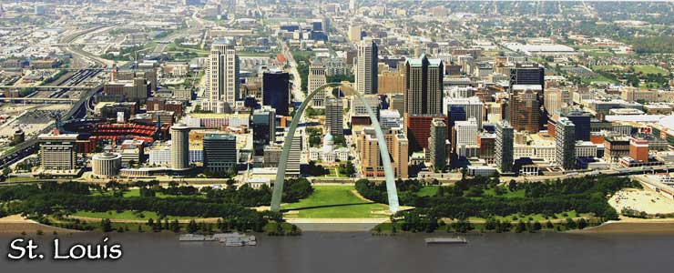 The St. Louis skyline