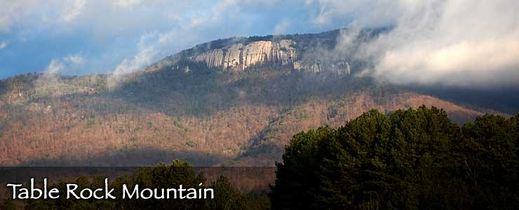 Table Rock Mountain, Table Rock Mountain State Park