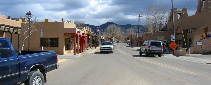 Paseo del Pueblo in Taos