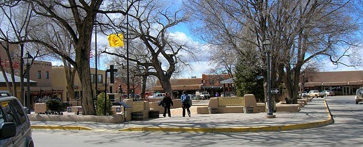 Taos Plaza itself
