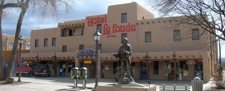 Hotel La Fonda on Taos Plaza