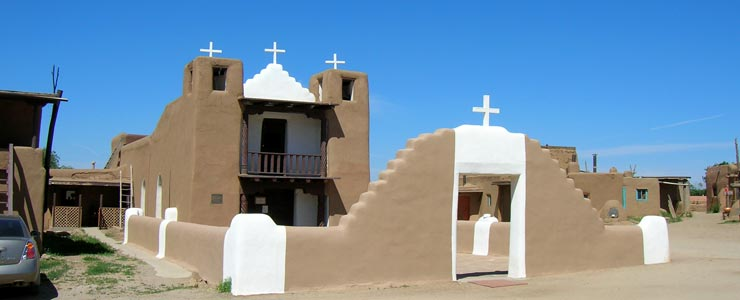 The San Geronimo de Taos Church