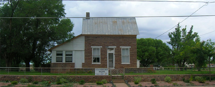 One of the first homes built in Taylor, Arizona