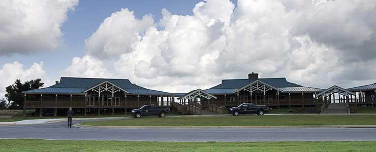 Ranger housing at Blakeley State Park