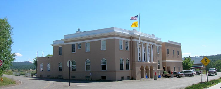 Rio Arriba County Courthouse, Tierra Amarilla, New Mexico