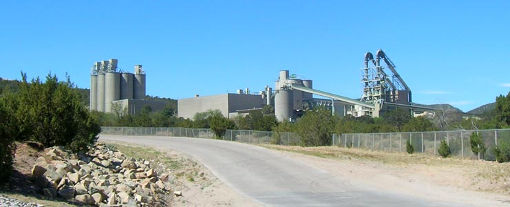 The big cement plant in Tijeras