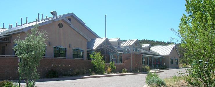 Ranger office of Cibola National Forest