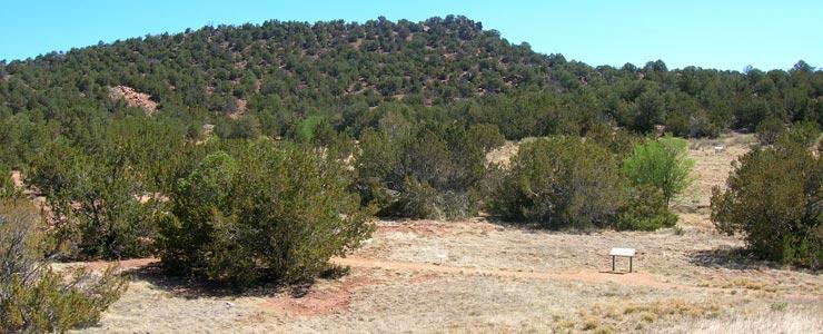 Site of the ancient Tijeras Pueblo