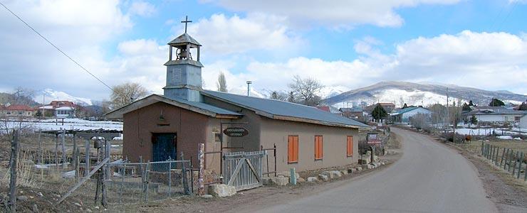 A church cum artist gallery in Truchas