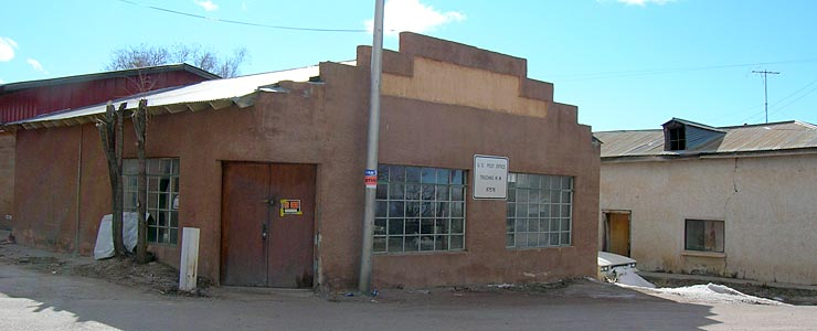 The former Truchas Post Office