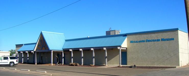 Mesalands Dinosaur Museum in Tucumcari