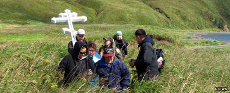 Unangan Elders, Aleutian Islands Unit