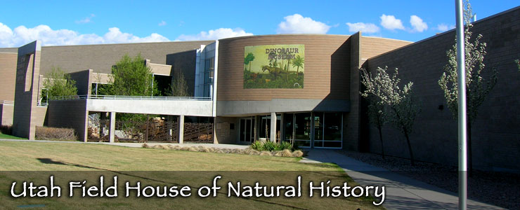 Utah Field House of Natural History State Park Museum