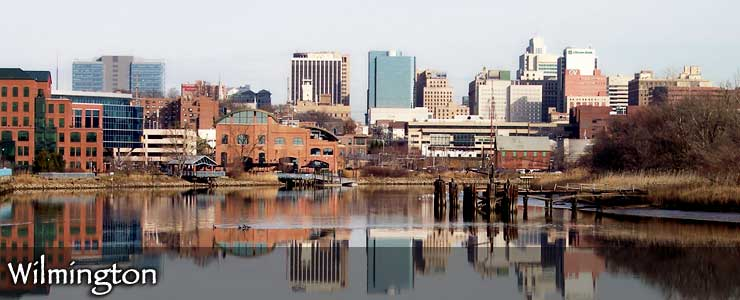 The Wilmington skyline