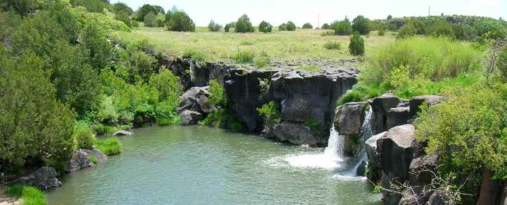 Folsom Falls is north of Folsom