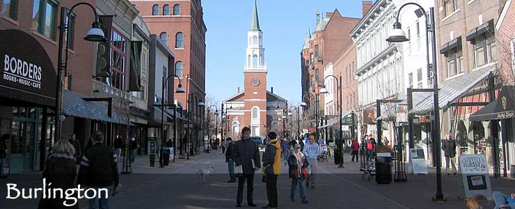 Church Street in Burlington