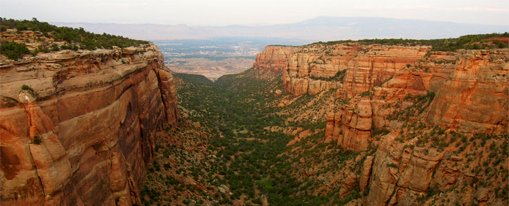 Another canyon in Colorado National Monument
