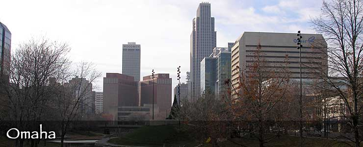 The Omaha skyline