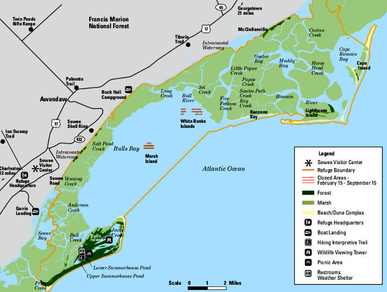 Cape Romain National Wildlife Refuge The Sights And Sites Of America