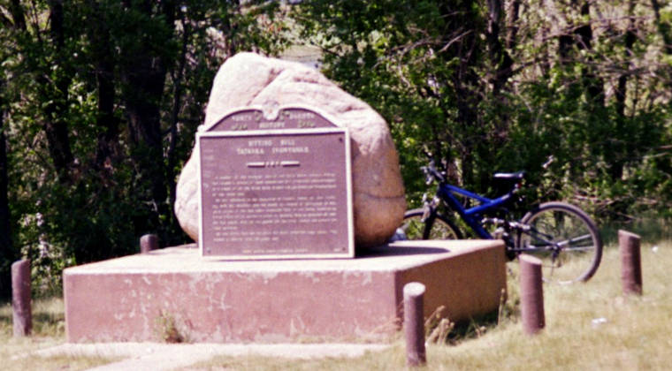 The Monument to Sitting Bull
