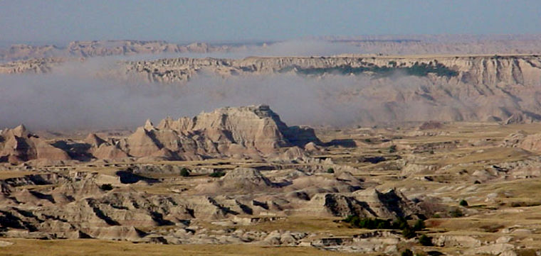 In the Badlands Wilderness area