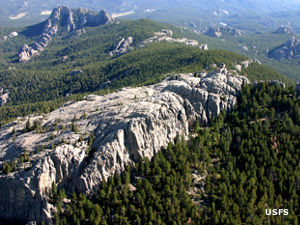 Harney Peak in Black Elk Wilderness