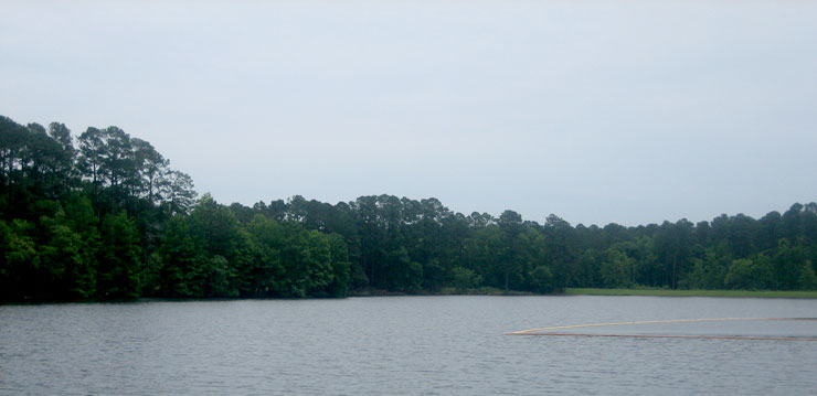Ratcliff Lake at Davy Crockett National Forest