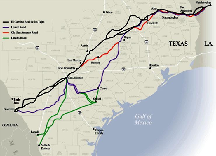 El Camino Real De Los Tejas National Historic Trail The
