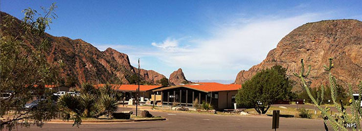 The Chisos Basin Visitor Center