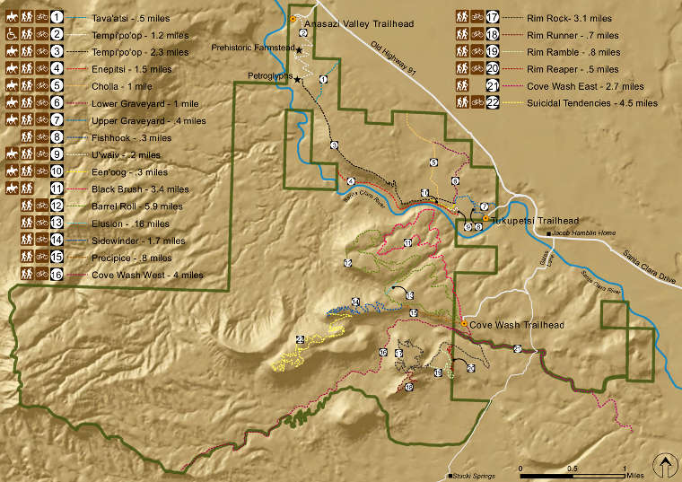 Santa Clara River Reserve Utah Blm Sites
