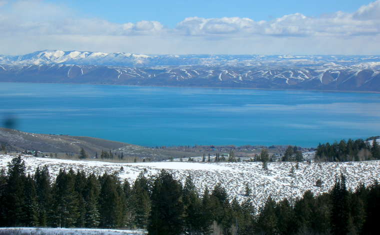 A view of Bear Lake