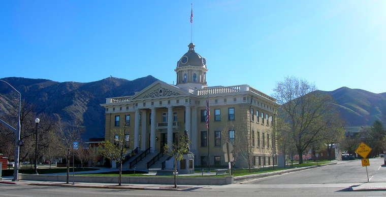 City Hall in Brigham City, Utah
