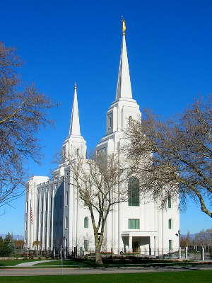One of Brigham city's LDS churches