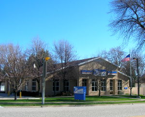 The Wellsville Post Office