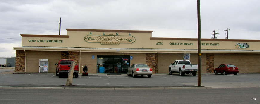 The grocery store in Green River