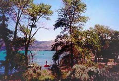Rendezvous Beach, Bear Lake State Park