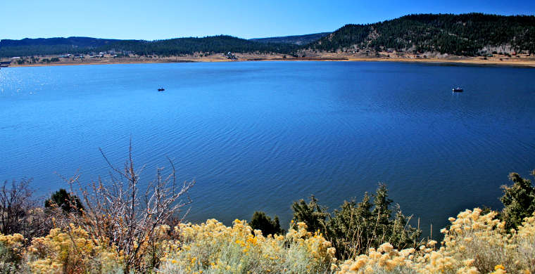 Panguitch Lake, along the Brian Head Scenic Drive